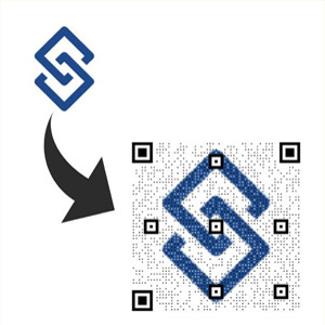 ابزار ساخت بارکد QR با لوگوی اختصاصی