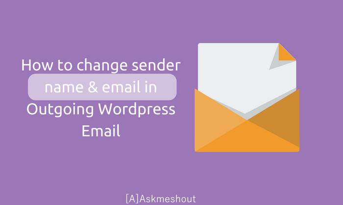 تغییر ایمیل پیشفرض وردپرس به ایمیل دلخواه