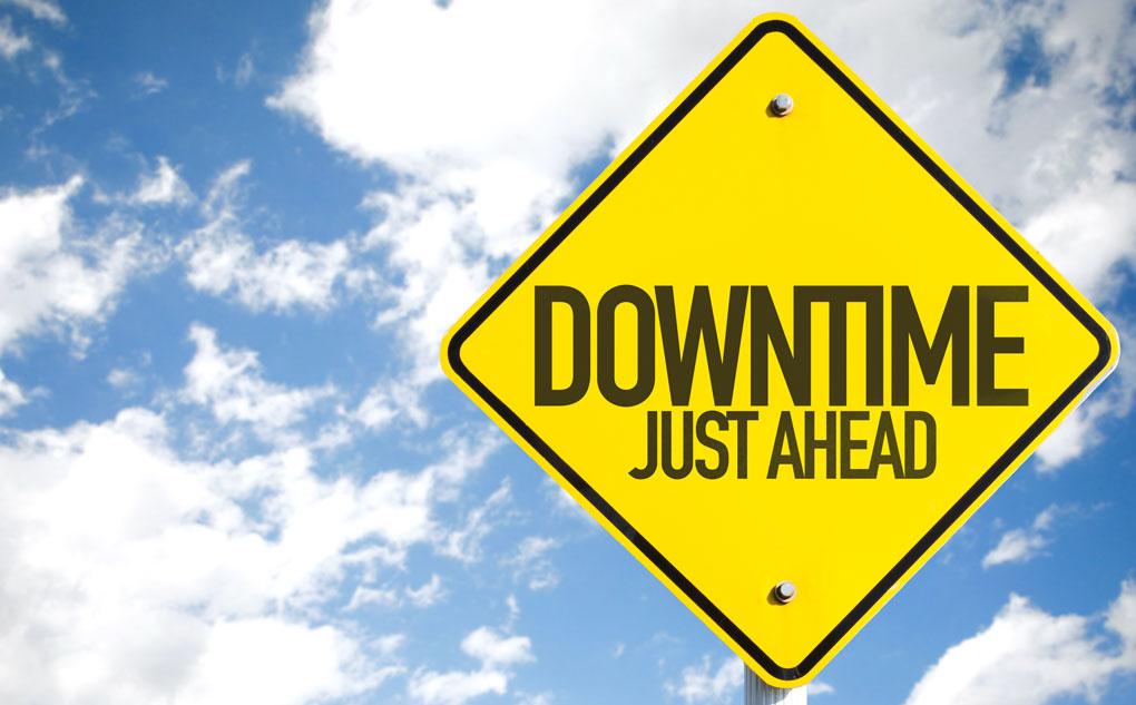 Downtime برنامه ریزی شده در سرور های ایران (زیرساخت)