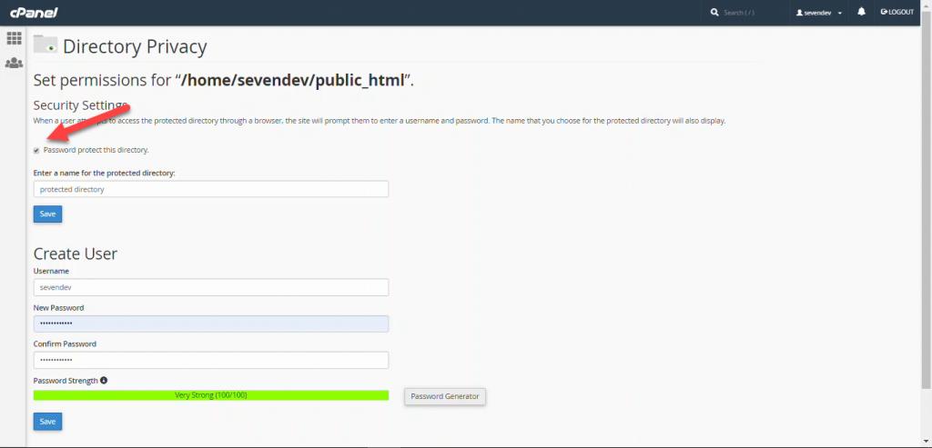 رمزگذاری روی دایرکتوری در سایت