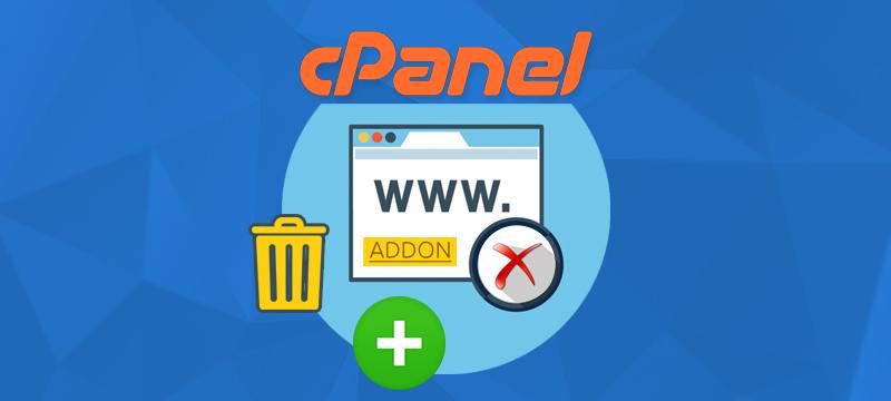 اضافه یا حذف نمودن دامنه با addon domains در سی پنل