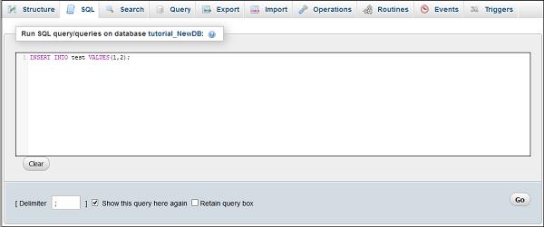 مدیریت پایگاه داده با ابزار phpMyAdmin