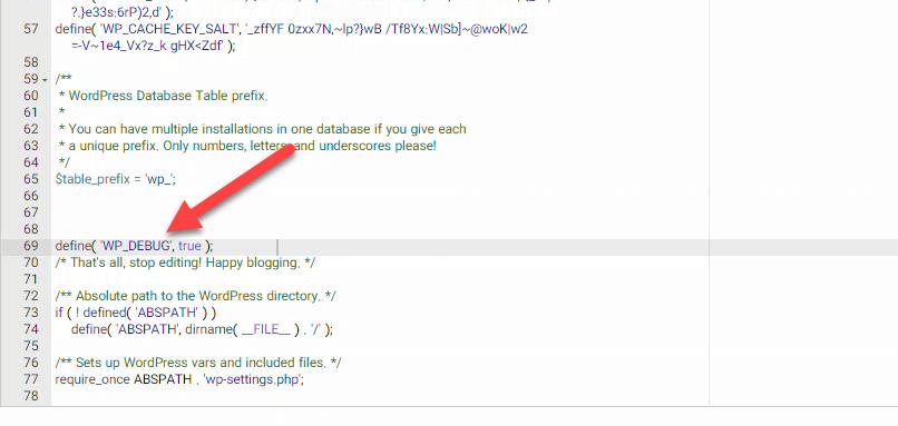 اضافه کردن کد دیباگ وردپرس به هاست