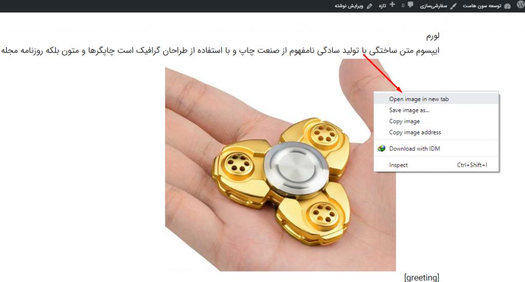 پیدا کردن آدرس تصاویر آپلود شده به وردپرس از طریق محیط سایت