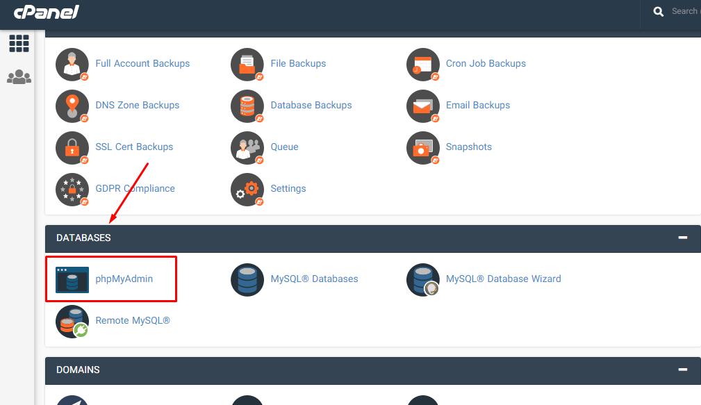تعویض ایمیل مدیریت وردپرس را از طریق phpMyAdmin