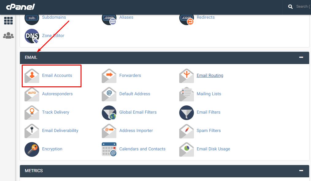 ورود به حساب های ایمیل برای دسترسی به صندوق پستی ایمیل کاربران