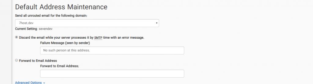 آموزش تنظیم آدرس ایمیل پیش فرض در هاست سی پنل به صورت تصویری
