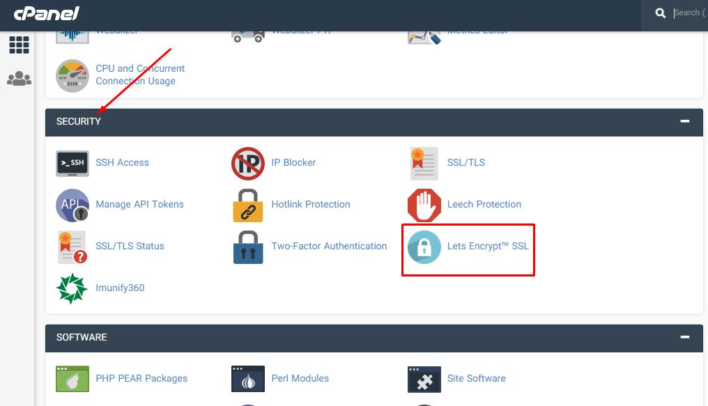 فعال کردن گواهینامه SSL از طریق ابزار Let's Encrypt™ SSL