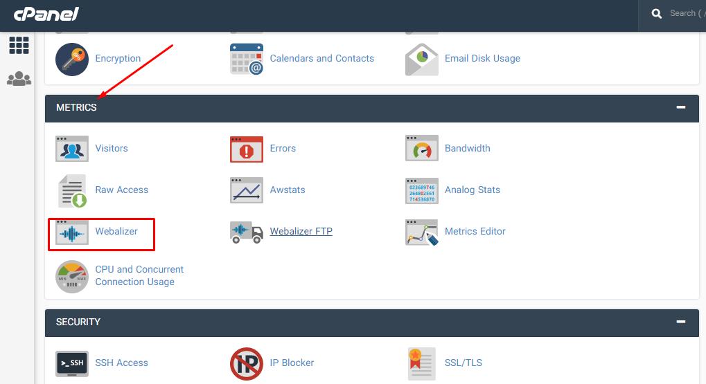 نحوه استفاده از Webalizer برای مشاهده آمار بازدید سایت در هاست سی پنل