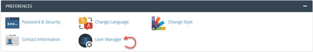 افزودن و مدیریت کاربران در سی پنل با User Manager